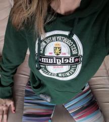 Zelena hoodie
