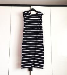 Duga pamučna haljina M/L