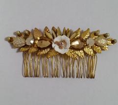 Zlatni ukras za kosu