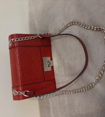 Mala crvena/bordo torbica