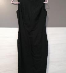 Zara crna uska haljina vel. S