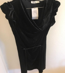 Nova haljina baršun strukirana SMALL
