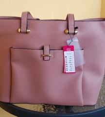 Prljavo ružičasta torba