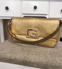 Guess zlatna torbica AKCIJA