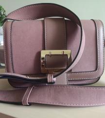 Roza puder torbica