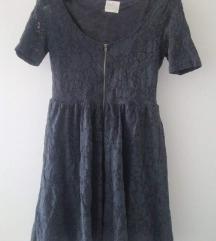 Zara cipkasta haljina