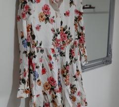 Stradivarius cvjetna haljina/tunika
