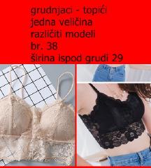 SEXY ČIPKASTI GRUDNJAK CROP TOP