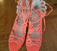 ASOS fluorescentne sandale