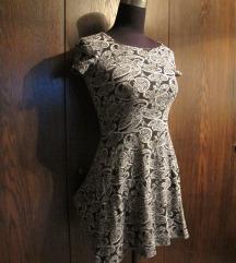 Ljetna haljinica sa kratkim rukavima