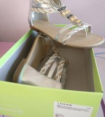 Ravne sandale-japanke NOVO