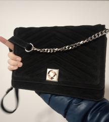 ZARA  torba/ prava koža