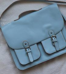 C&A školska plava torba baby blue boje