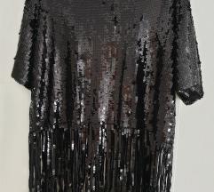 Majica Zara sa sljokicama i resicama