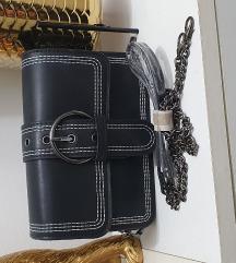 Novo  crna mala torbica