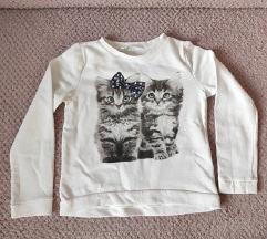 Deblja majica za djevojčice H&M
