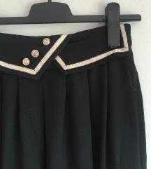Vintage midi suknja
