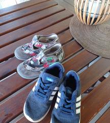 Tenisice i papuce