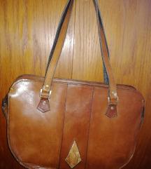 Vintage torba prava koža nova