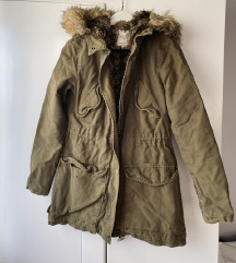 Zara zeleni kaput