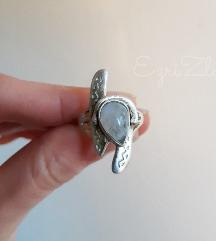 Prsten srebro i moonstone