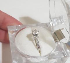 Prsten bijelo zlato 585- AKCIJA!!!