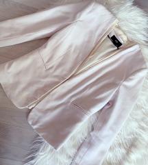 H&M bijeli strukirani sako - NOVO