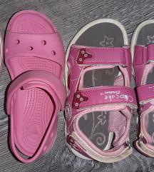 Cupcake sandalice