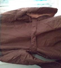 Smeđa jakna - kaputić
