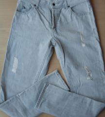XPLOSIAM jeans hlače, tvornički poderane, 40/42