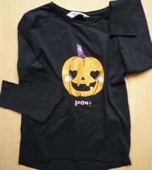H&M pamučna majica, dugi rukav, 8-10 g.,134/140
