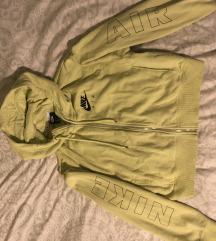 Nike air neon zelena hoodie