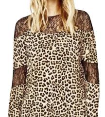 Animal print Zara bluza