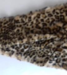 Leopard krznini šal