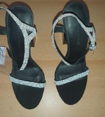 Zara sandale sa swarovski kristalićima