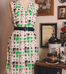 Vintage haljina s kragnom