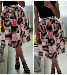 Suknja A kroj
