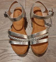 Sandale srebrne NOVO