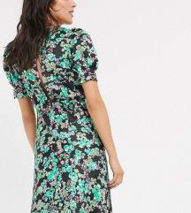 Asos cvjetna svilena haljina