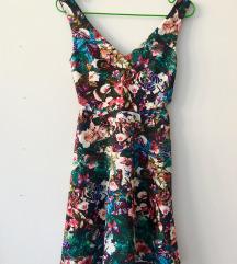 Šarena haljina s prorezima