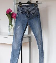 ZARA plave jeans hlače XS PRODANO