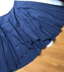 💃Asimetrična suknja šivana unikat M
