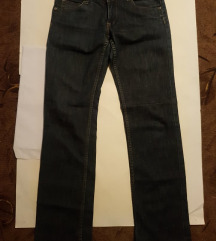 hlače jeans elastin