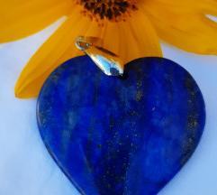 Lapis lazuli srce