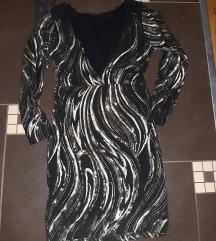 haljina  sa sjajnim detaljima S/M