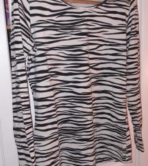 Majica s  zebra uzorkom