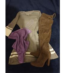 Lot haljina body čizme