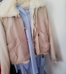 Zara 3u1 jakna S s krznom, odvojivim