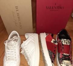 Valentino Garavani Rockstud i Burberry