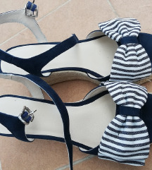 Modre sandale